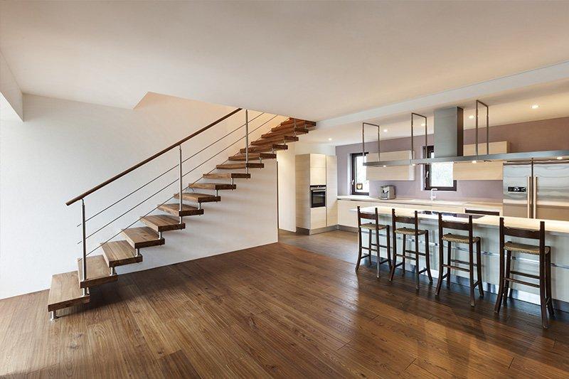 Como construir escadas interiores totalmente seguras for Escaleras de salon
